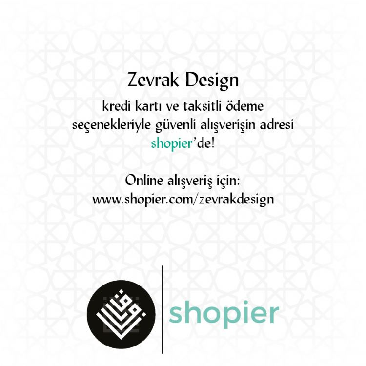 Zevrak Design Shopier`de!